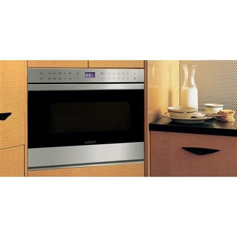 Wolf Drawer Microwave by Wolf Md24tes 24 Quot Microwave Drawer
