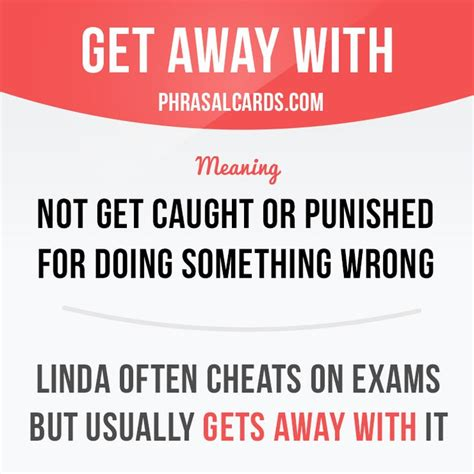 get away 100 best images about phrasal cards on