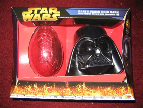 darth vader easter eggs darth vader coin bank with belgian recipe milk chocolate