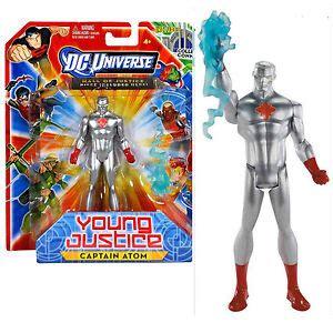 dc comic universo capitan atomo justicia joven figura de accion nuevosellado ebay