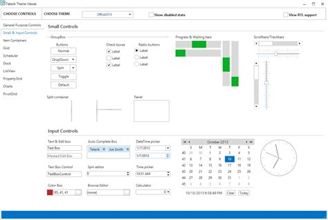 new themes office 2013 what s new in radcontrols for winforms q3 2013