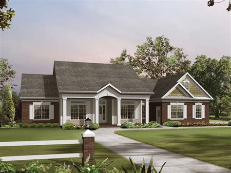 southern ranch house southern ranch house plans 3205