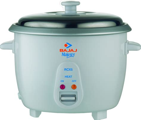 Rice Cooker 1 bajaj majesty rcx 5 electric rice cooker price in india buy bajaj majesty rcx 5 electric rice