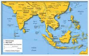 south east map map of indian subcontinent and se asia start up koan