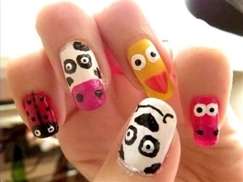 imagenes de uñas decoradas animales u 241 as animales animals nails youtube