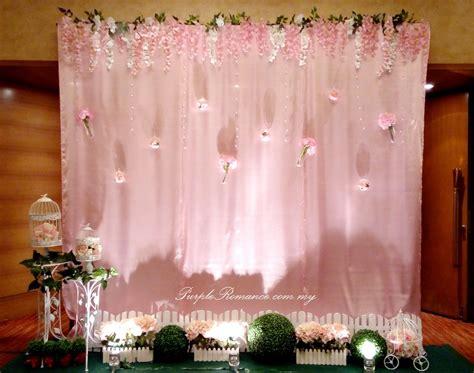 garden theme wedding decoration  pullman klcc purple