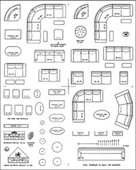 Furniture Templates On Pinterest Paper Cut Outs Home Living Room Furniture Templates