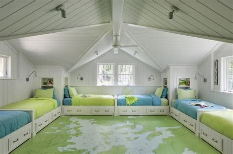 a gallery of children s floor beds apartment therapy kids room with painted map floor cottage boy s room