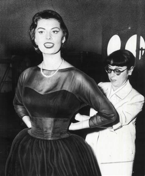 edith heads hollywood 1883318890 edith head with sophia loren costume by edith edith head sophia loren and woman