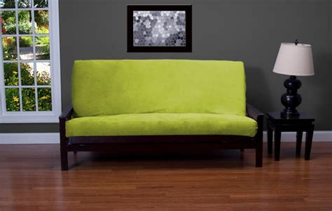 green futon cover posh apple green futon cover