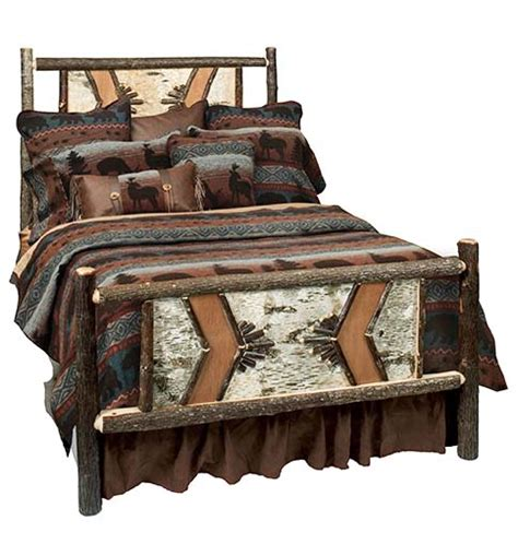 adirondack bedroom furniture adirondack hickory bed western bedroom furniture free