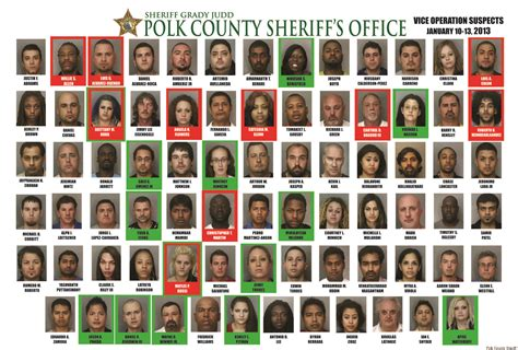 Polk County Sheriff S Office Florida by 78 Arrests In 4 Day Prostitution Sting By Polk County