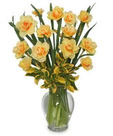 Florist Bentley Daffodils Arrangement In Burton Mi Bentley