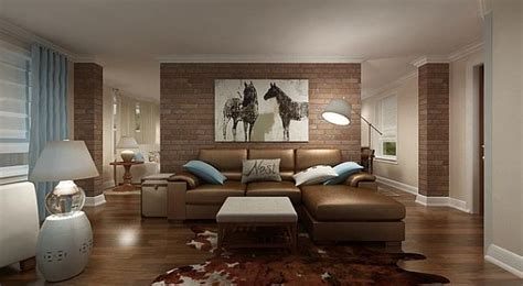 Living Room Ideas Exposed Brick Adding An Exposed Brick Wall To Your Home
