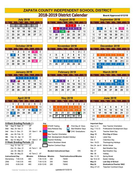 zapata county independent school district calendar    publicholidaysus