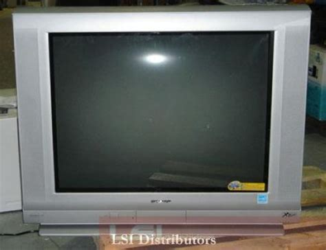 Tv Sharp Flat sharp 32f543 32 flat screen crt tv television