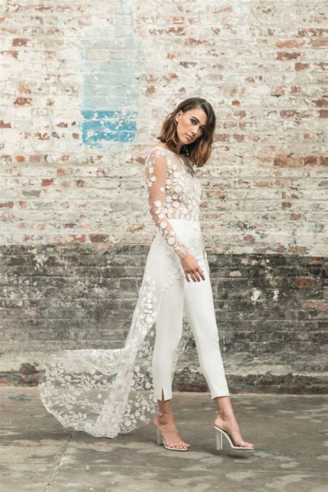 Wedding Dress Trend: Let the Bride Wear the Pants