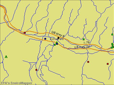 map of edwards colorado edwards colorado co 81632 profile population maps