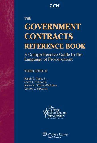 reference books governance the government contracts reference book ralph nash
