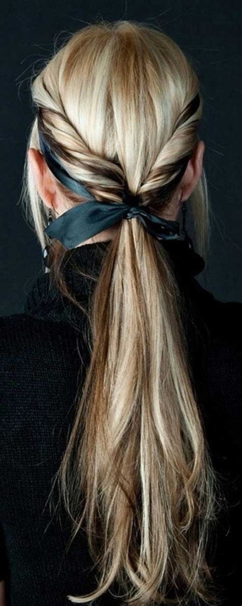 easy hairstyles ribbon 15 cool hairstyles for girls with long hair long
