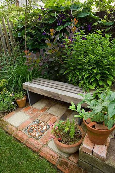 23 Easy To Make Ideas Building A Small Backyard Seating 23 Small Backyard Ideas How