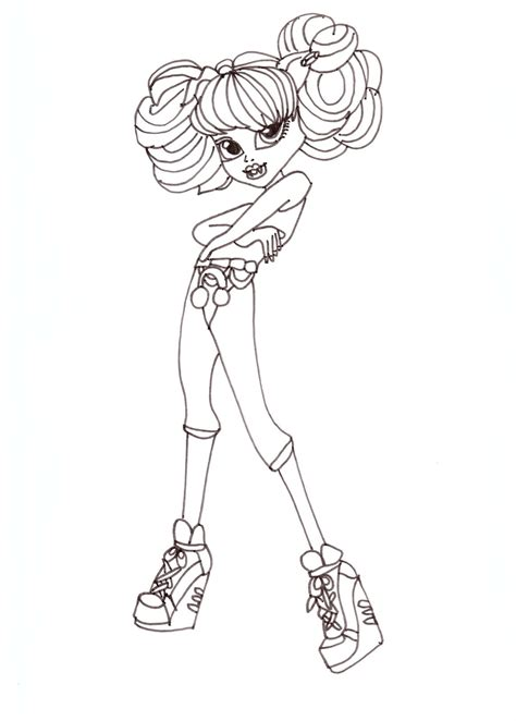 Coloring Pages Of High Dolls free printable high coloring pages for