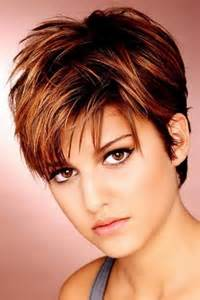 hairstyles for thick hair with a short layered hairstyles for thick hair