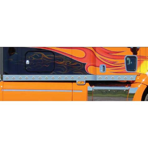 Semi Truck Sleeper Accessories by Peterbilt 387 Cab And Sleeper Panels Big Rig Chrome Shop
