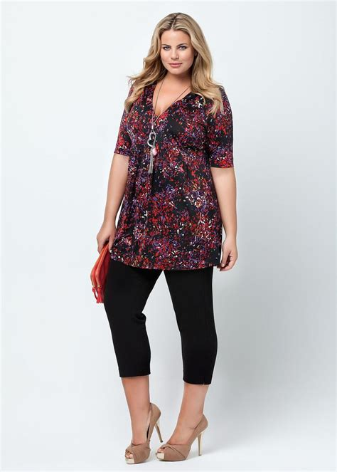 how should plus sized women wear their hair fashion plus size large size womens clothes tops