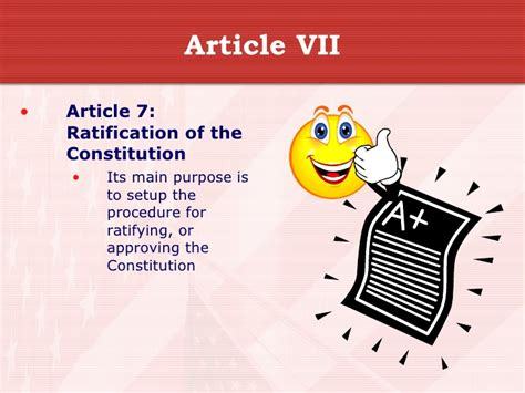 article 1 section 7 summary articles 1 7