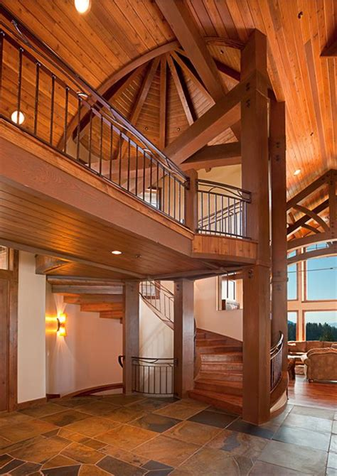 interior beams in houses mountain architects hendricks architecture idaho timber frame vs timber post and