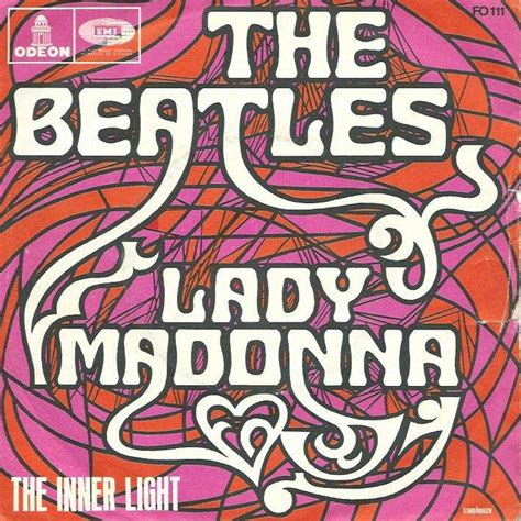lade light beatles madonna the inner light sans the 7inch