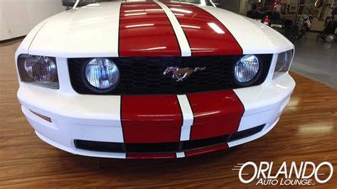 ford mustang gt white stripes 2005 ford mustang gt white stripes