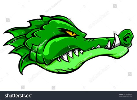 Green Also Search For Green Alligator Crocodile For Or Mascot Design