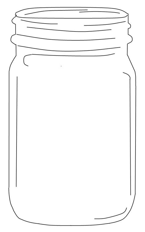 free printable templates for jars free mason jar clip art an element for use in the