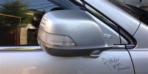 Spion Mobil Carry Kaca Spion Dihantam Benda Keras Gallery Kawan Asuransi