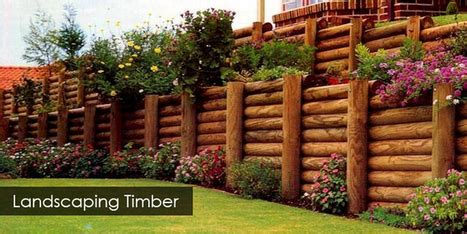 Landscape Timbers As Fence Post Landscaping Timbers Brisbane Fence Posts Fen