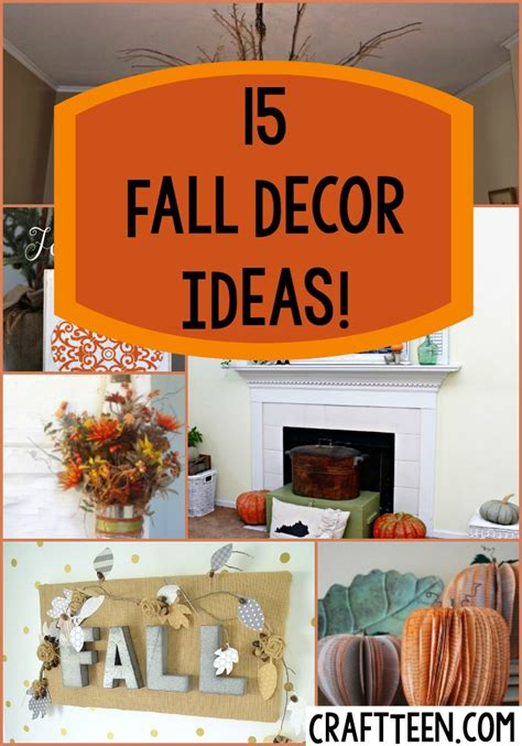 Diy Fall Room Decor by Diy Projects Page 5 Craft