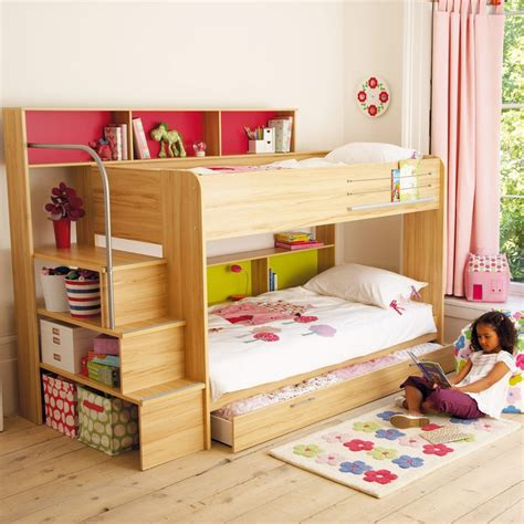 girls bunk beds with storage 1000 images about girls rooms on pinterest child room