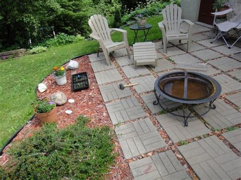 diy backyard patio cheap landscape ideas for front yard no grass lovely modern garden