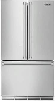 Viking Counter Depth French Door Refrigerator - viking 3 series rvrf336ss 36 inch counter depth french door refrigerator ebay