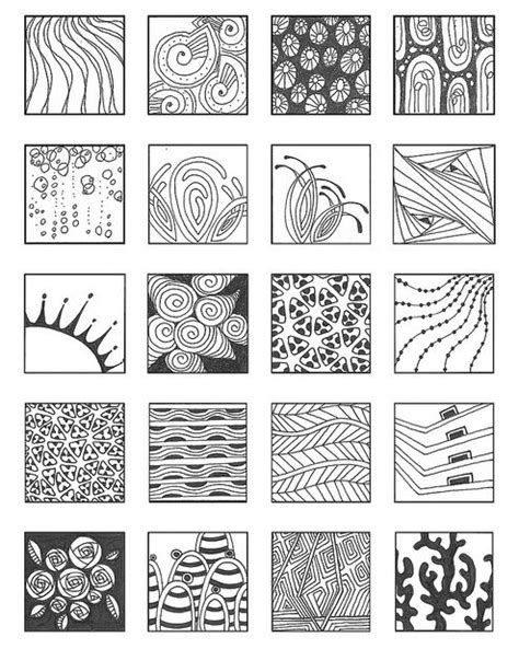 zen of design patterns zentangle patterns noncat 7 zentangledesign sler