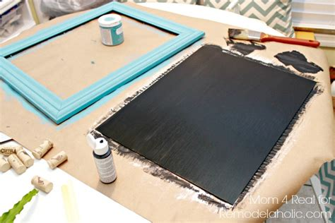 chalkboard paint time between coats remodelaholic thrifted picture frame turned chalkboard