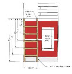 Bunk Bed Ladder Plans 187 Plans To Build A Bunk Bed Ladderfreewoodplans