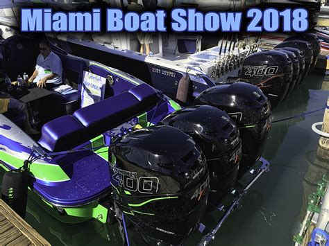 miami boat show display scream and fly magazine home