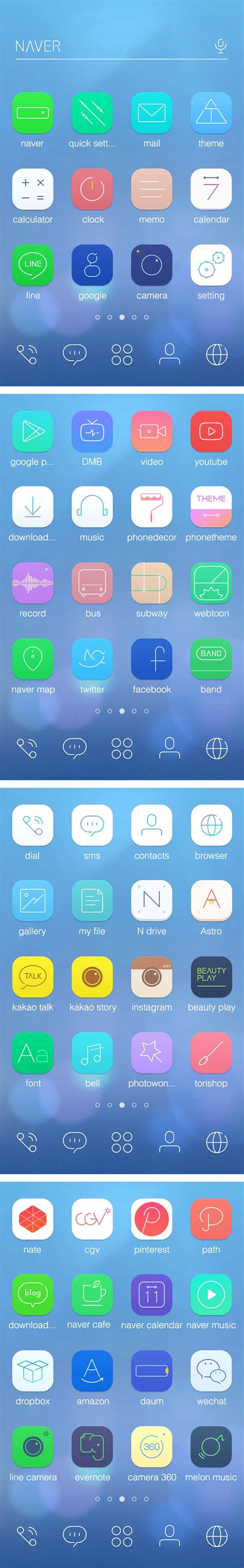 theme line android shinee 25 best ideas about app icon design on pinterest app