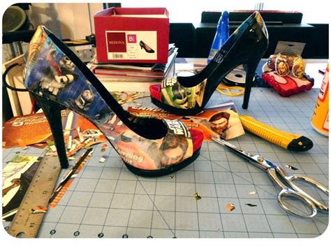 Decoupage Shoes Diy - 25 best ideas about decoupage shoes on diy