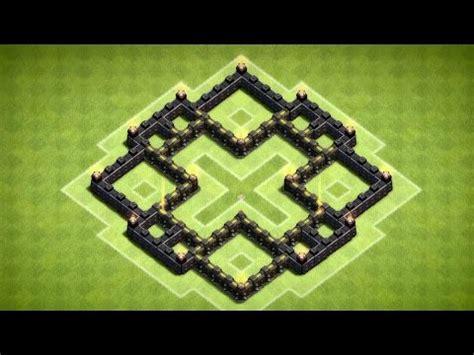 coc nazi layout clash of clans rathaus level 5 trophy base hd you