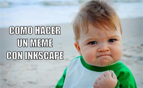 Crear Un Meme - como hacer un meme con inkscape