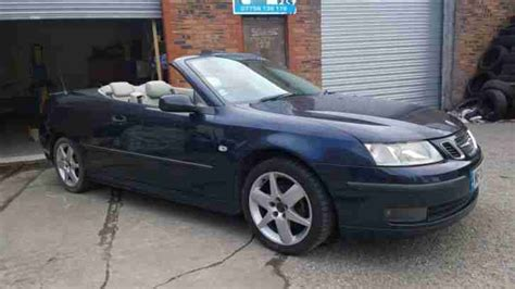 car owners manuals for sale 2005 saab 42133 head up display saab 2005 9 3 aero convertible spares or repairs project car for sale